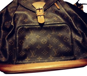 Louis Vuitton Monogram Leather Backpack