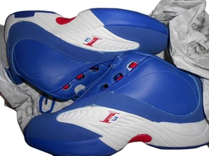 Reebok Alleniverson Lowtop Sneakers blue, red and white Athletic