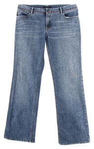 Elie Tahari - Denim Boot Cut Jeans-Light Wash