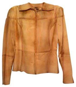 Cappopera Camel Leather Jacket