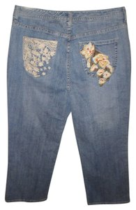 Chico's Capri/Cropped Denim-Light Wash