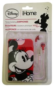 iHome iHome Disney Minnie Mouse Noise Isolating Earphones with Pouch
