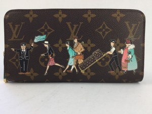Louis Vuitton Louis Vuitton Monogram Illustre Zippy Wallet/Rose Pink