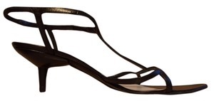 Miu Miu Gladiator Designer European Black Formal