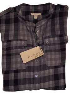 Burberry Top Grey/black