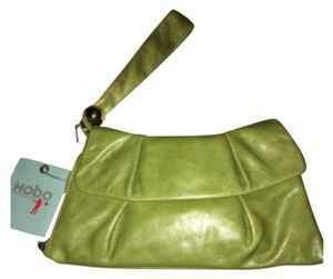 Hobo International Leaf Green Clutch