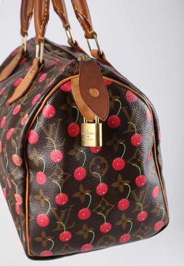 Louis Vuitton Monogram Canvas Bucket Leather Satchel in Multi
