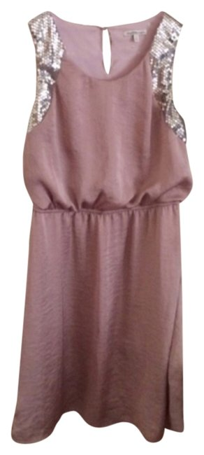 Charlotte Russe Lilac Above Knee Short Casual Dress Size 4 (S) Charlotte Russe Lilac Above Knee Short Casual Dress Size 4 (S) Image 1