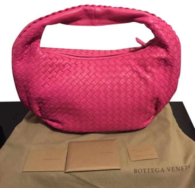 Item - Belly Pink Nappa Leather Hobo Bag