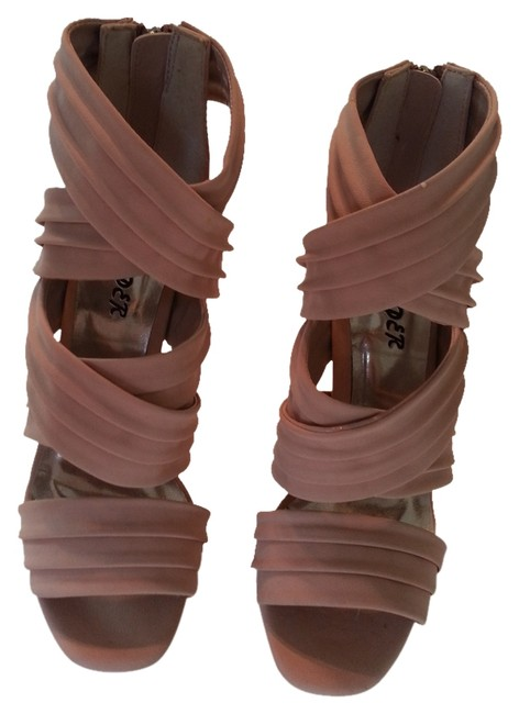 Item - Creamy Rose Dollhouse High Heels with Platforms Strappy Color: Pumps Size US 6 Regular (M, B)