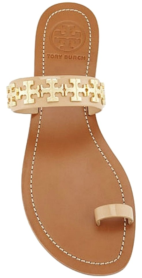 23a65cee5390 Tory Burch Camellia Pink In Box and Dust Bag Val Flip Flop Flat Patent  Leather Sandals