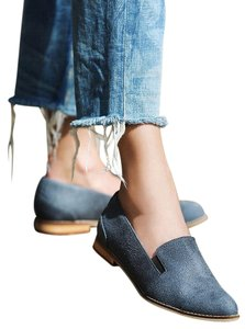 Free People Vegan Eddie Loafer Grey Farylrobin Flats