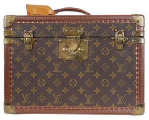 Louis Vuitton Monogram Toiletry Case Boite Pharmacie Monogram Case Boite Case Monogram Boite Travel Case Travel Brown Travel Bag