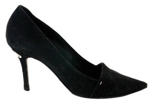Louis Vuitton Suede Heels Black Pumps