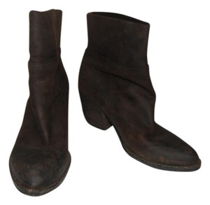 Jeffrey Campbell Leather Western Brown Boots