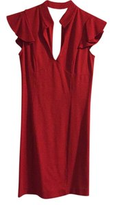 bebe short dress Red on Tradesy