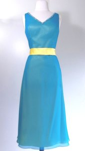 Venus Bridal Turquoise / Yellow Bella Maids 3612 Dress