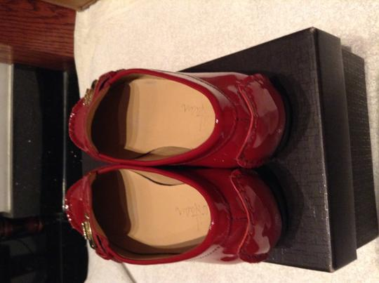 Cole Haan Nike Red Flats
