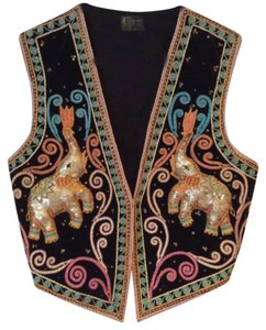 Rico international Vintage Unique Handmade Embroidered Vest