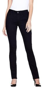 Yummie Stretchy Straight Leg Jeans-Dark Rinse