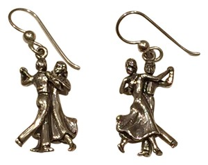 Other Artisan Sterling Silver Ballroom Dancers Earrings