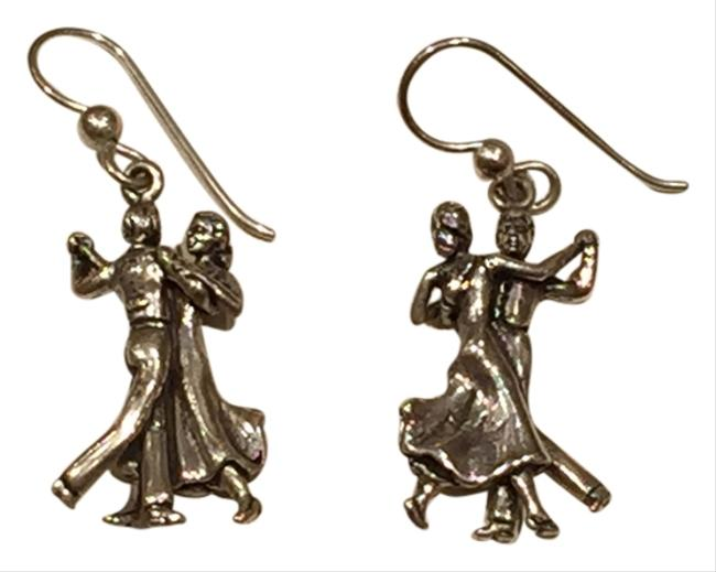 Silver Artisan Sterling Ballroom Dancers Earrings Silver Artisan Sterling Ballroom Dancers Earrings Image 1