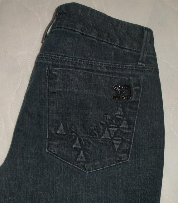 JOE'S Jeans Classic 5 Pocket Style *zipper Fly *low Rise Leg Opening *cotton/Lycra *machine Washable *triangle Embossed Back *wash: Boot Cut Jeans-Dark Rinse