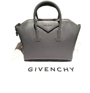 Givenchy Antigona Medium Prada Tote Satchel in grey