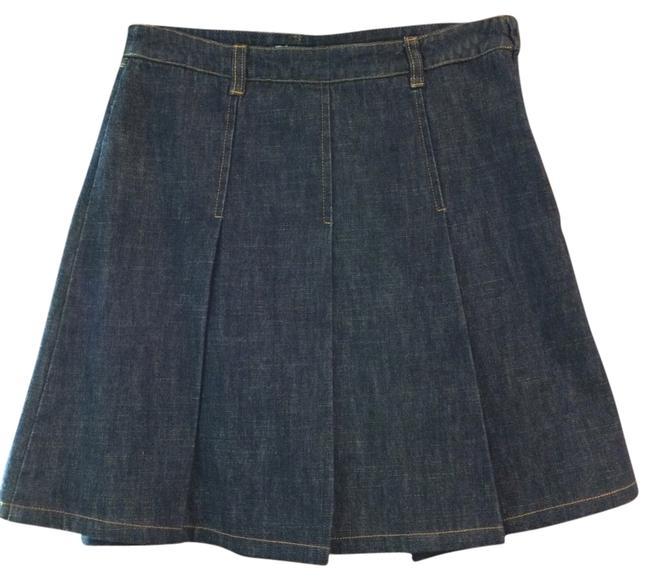 Item - Dark Blue / Us - Made In Italy Skirt Size 4 (S, 27)