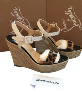 Christian Louboutin Size 39 multi color Wedges