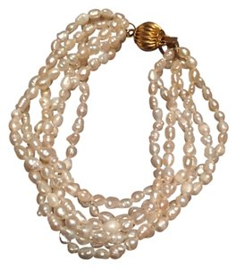Freshwater Pearl Bracelet Reduced For A Quick Sale