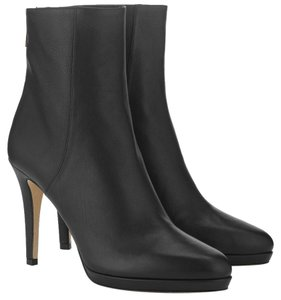 Jimmy Choo Gia Bootie Leather Never Worn BLACK Boots