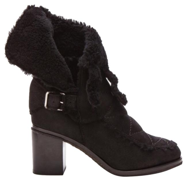Laurence Dacade Blac Achille Shearling Boots/Booties Size US 9.5 Regular (M, B) Laurence Dacade Blac Achille Shearling Boots/Booties Size US 9.5 Regular (M, B) Image 1