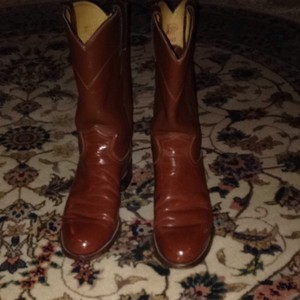 Justin Boots Saddle Brown Boots