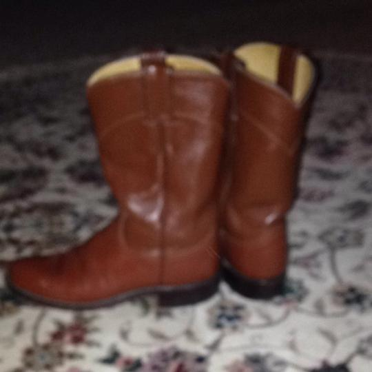 Justin Boots Saddle Brown Boots Image 2