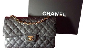Chanel Jumbo Classic Gold Hardware Classic Jumbo Shoulder Bag