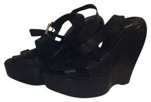 Givenchy Black Platforms