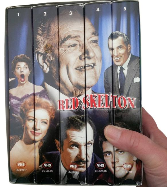 Red Skelton Vhs Collectors Series Tech Accessory Red Skelton Vhs Collectors Series Tech Accessory Image 1