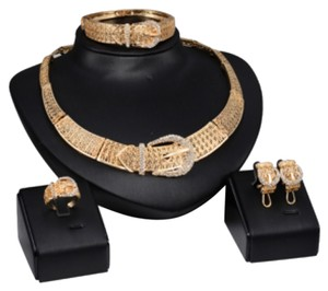 Other Belt Design 18K Gold Plated Jewelry Set