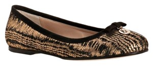 Fendi black and gold Flats