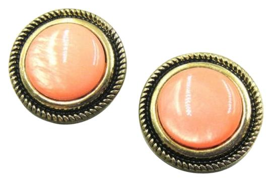 Preload https://img-static.tradesy.com/item/11361250/orange-antiqued-gold-new-round-cat-s-eye-gemstone-stud-j1898-earrings-0-1-540-540.jpg