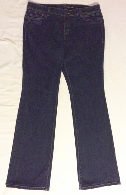 Simply Vera Vera Wang Boot Cut Jeans-Medium Wash