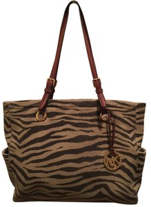 Michael Kors Animal Print Shoulder Bag