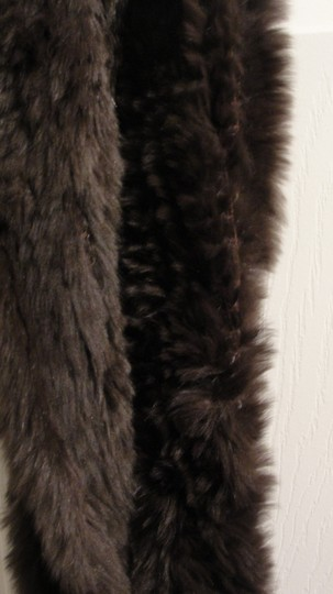Other Brown Faux Fur Scarf Image 1
