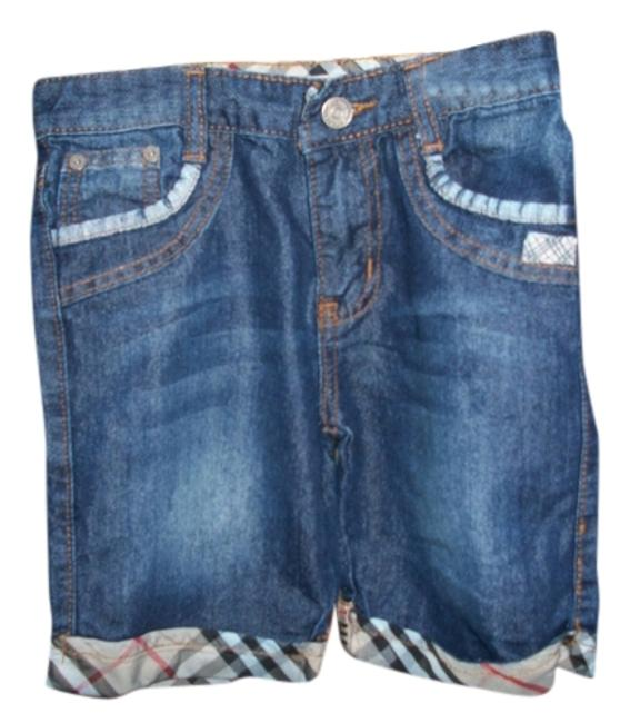 Item - Blue Children Short Relaxed Fit Jeans Size OS (one size)