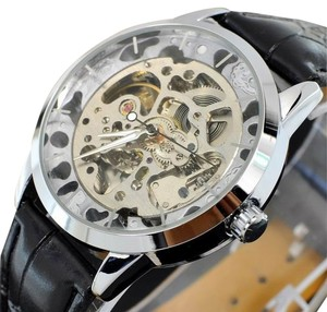 Winner Round Quartz Steampunk Sport Watch-FREE SHIPPING