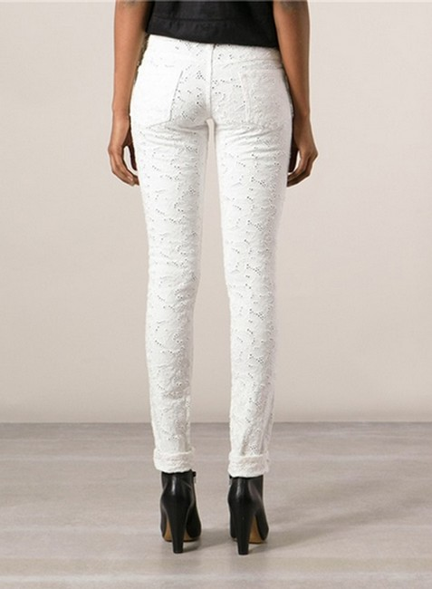Isabel Marant Mael Mael Broderie Anglaise Lace Pants