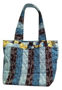 Other Tote in bLues and Brown