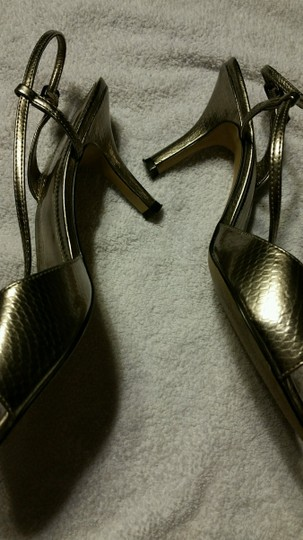 Mixit Silver/Pewter Pumps Image 3
