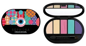 Sephora Colorful 5 Eyeshadow Palette Craig & Karl